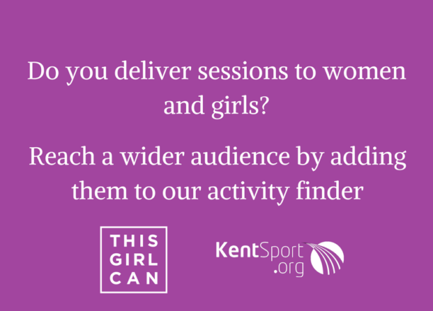 Kent Girls Can activity finder flyer